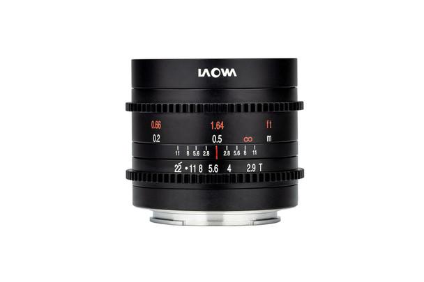 Laowa 9mm t/2.9 Zero-D Cine for Sony E