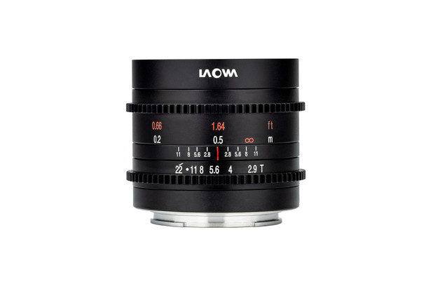Laowa 9mm t/2.9 Zero-D Cine for Fuji X