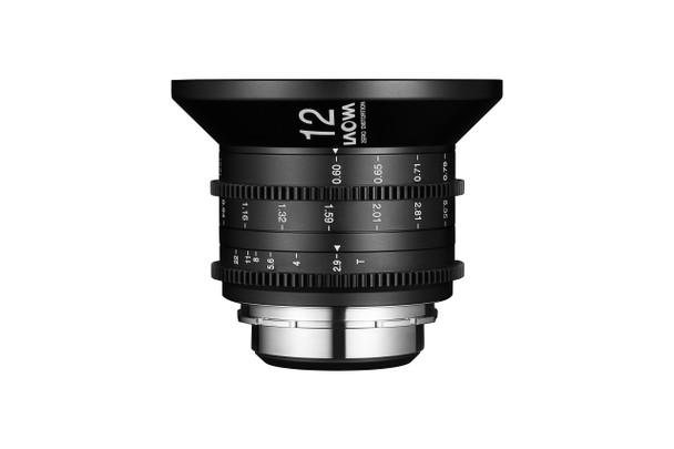 Laowa 12mm t/2.9 Zero-D Cine for Arri PL (Metres)