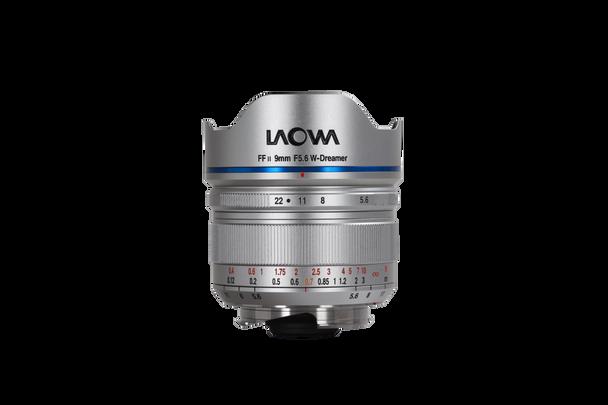 Laowa 9mm f/5.6 FF RL - Leica M (Silver)