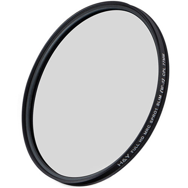 H&Y HD MRC CPL Filter For Wide & Tele Lens 77mm
