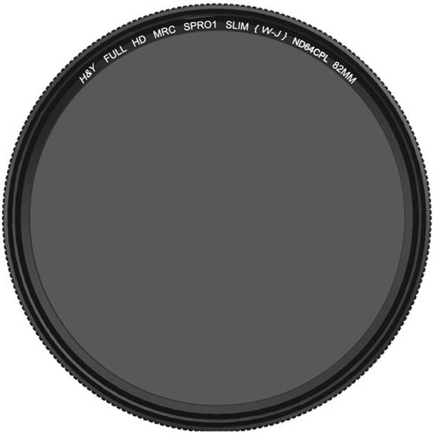 H&Y HD MRC Circular ND64+CPL Filter 72mm