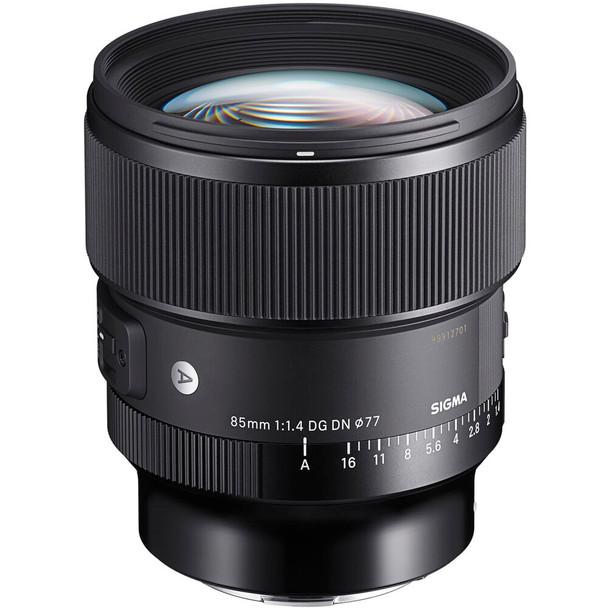 Sigma 85mm f/1.4 DG DN Art Lens for Sony E