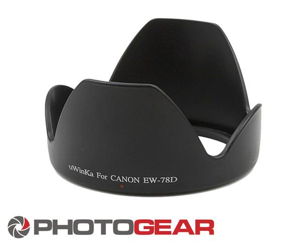 Lens hood EW-78D for Canon