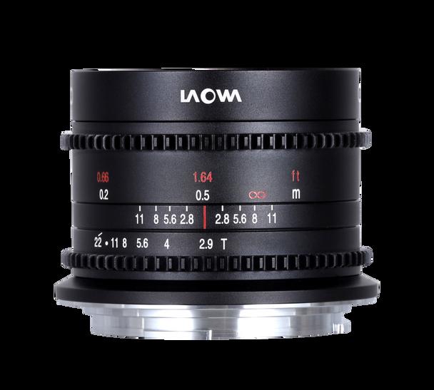 Laowa 9mm T2.9 Zero-D Cine for Canon RF (Dual Scale)
