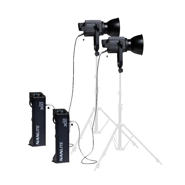 Nanlite Forza 300 LED 2-Monolight Kit
