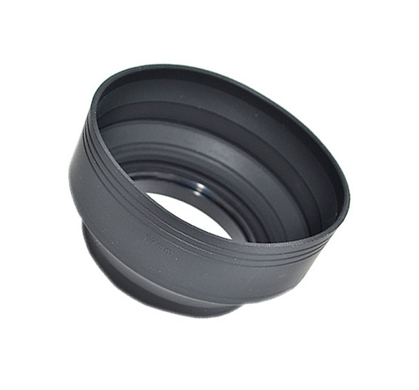 67mm Collapsible 3 in 1 Silicone Lens Hood