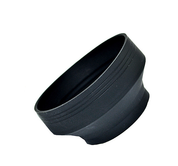 77mm Collapsible 3 in 1 Silicone Lens Hood