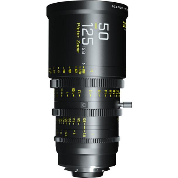 DZOFilm Pictor 50 to 125mm T2.8 Super35 Parfocal Zoom Lens (PL Mount and EF Mount)