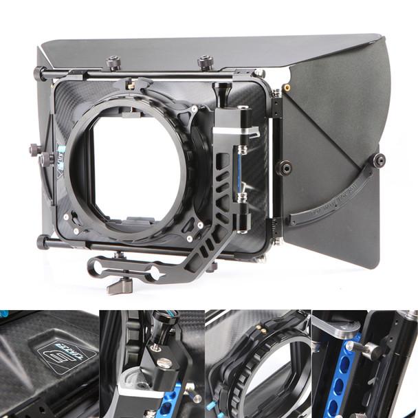 "Carbon Fiber 4x4"" Matte Box"