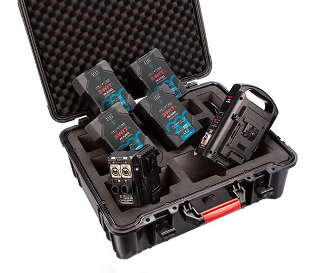 SWIT 500W Prince Battery Kit for ARRI Skypanel and Oribiter Cine Lights