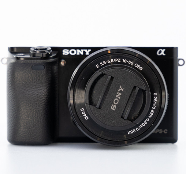 Pre-loved Sony a6000 Mirrorless Camera with 16-50mm f/3.5-5.6 OSS Lens