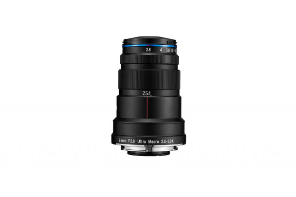 Laowa 25mm f/2.8 2.5-5X Ultra Macro