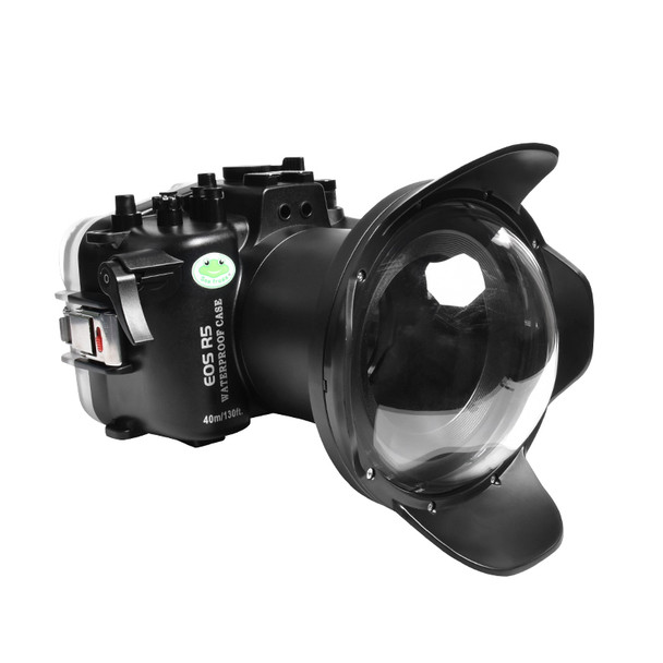 Meikon (SeaFrog) 40M/130FT Underwater Housing For Canon EOS R5 With Dome Port SC-27