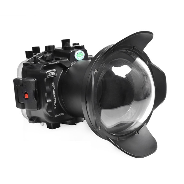 Meikon (SeaFrog) Sony A7R IV 40M/130FT Underwater camera housing with 16-35 dome port SS-27