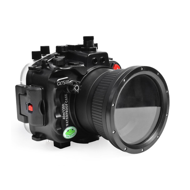 Meikon (Seafrog) 40M/130FT Underwater Camera Case For Sony A7S III (28-70mm Standard Port) SS-30