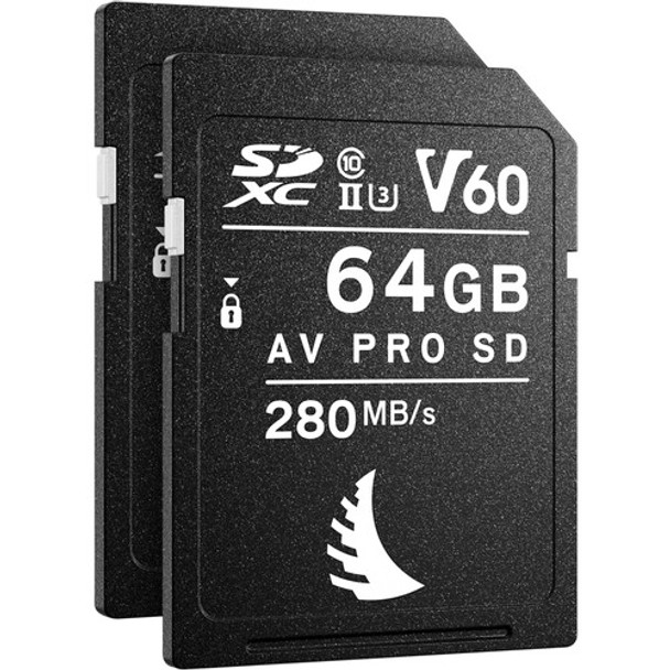 Angelbird Match Pack for Nikon Z5 64 GB V60   2 PACK