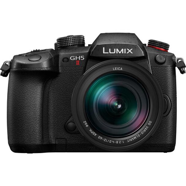 Panasonic LUMIX GH5 II Camera with Leica 12-60mm f/2.8-4.0 Lens + Free Lumix 25mm f/1.7 Lens