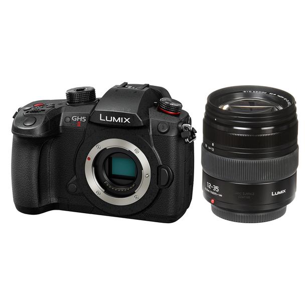 Panasonic LUMIX GH5 II Camera with 12-35mm f/2.8 Lens + Free Lumix 25mm f/1.7 Lens