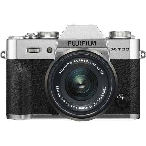 Fujifilm X-T30 + 15-45mm f/3.5-5.6 Kit (Silver)