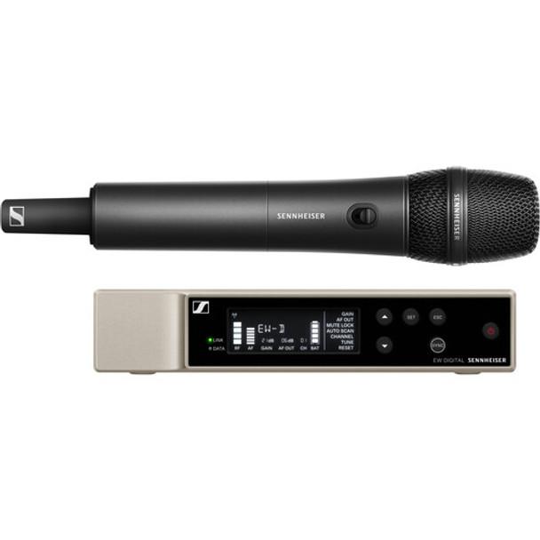 Sennheiser EW-D 835-S SET Digital Wireless Handheld Microphone System with MMD 835 Capsule (R1-6: 520 to 576 MHz)