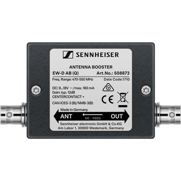 Sennheiser EW-D AB Inline Antenna Booster for EW-D Wireless Systems (R: 520 to 608 MHz)