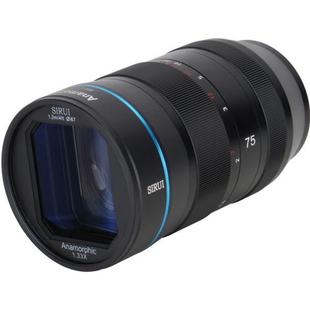 Sirui 75mm f/1.8 1.33x Anamorphic Lens (Nikon Z)