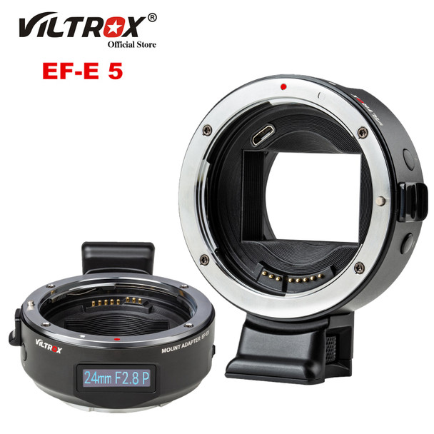 Viltrox Mark V EF-E5 Canon EF Adapter With OLED Screen