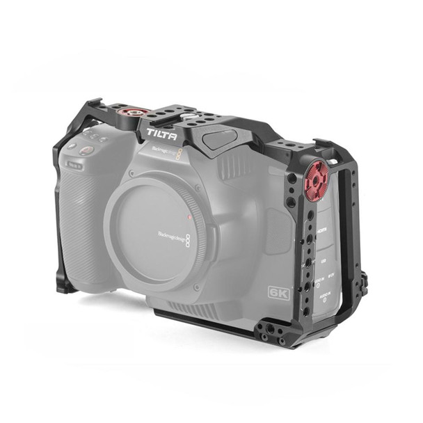 Tilta Full Camera Cage for Blackmagic Design Pocket Cinema Camera 6K Pro (Black)