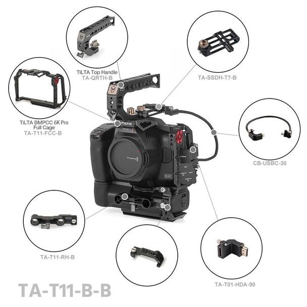 Tilta Basic Kit for Blackmagic Design Pocket Cinema Camera 6K Pro (Black)