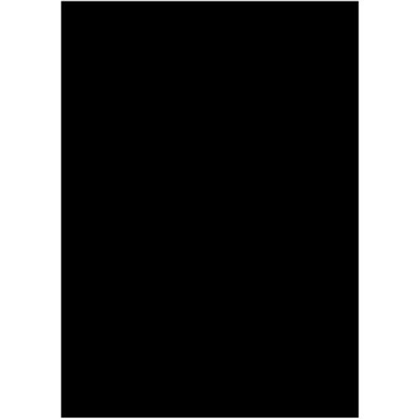 Westcott 5' x 7' Black X-Drop Backdrop (1.5 x 2.1 m)