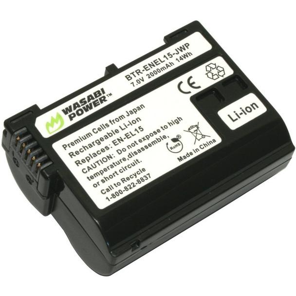 Wasabi Power Battery - Nikon EN-EL15 type