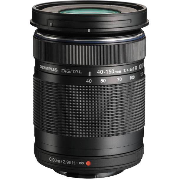 Olympus M.Zuiko ED 40-150mm F4.0-5.6 R Lens - Black