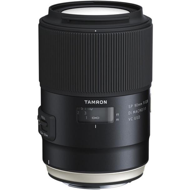 Tamron SP 90mm F2.8 DI MACRO 1:1 VC - Canon & $100 Cashback