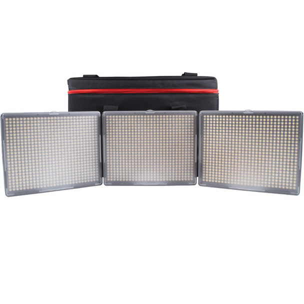 Aputure Amaran 3-Point 2x Daylight Spot 1x Bi-Color Flood HR672 3-Light Kit