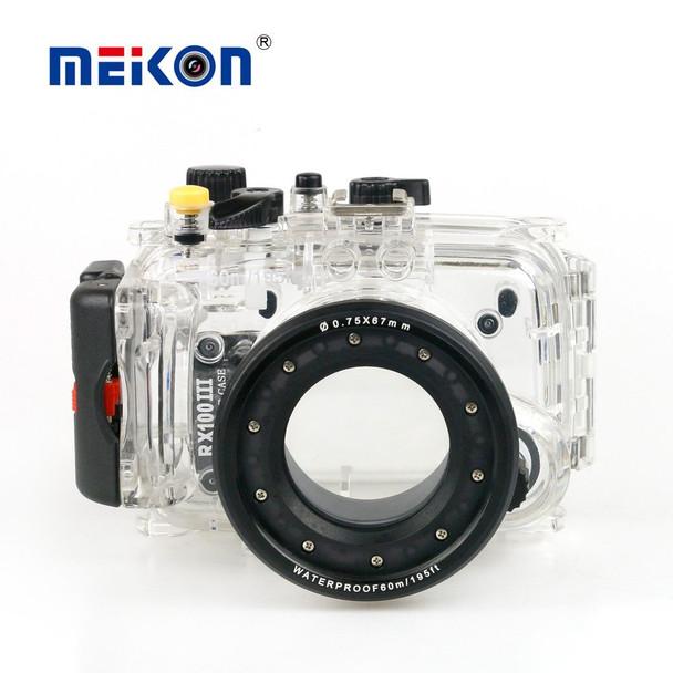 Meikon Sony DSC-RX-100 III 40m Underwater Camera Housing