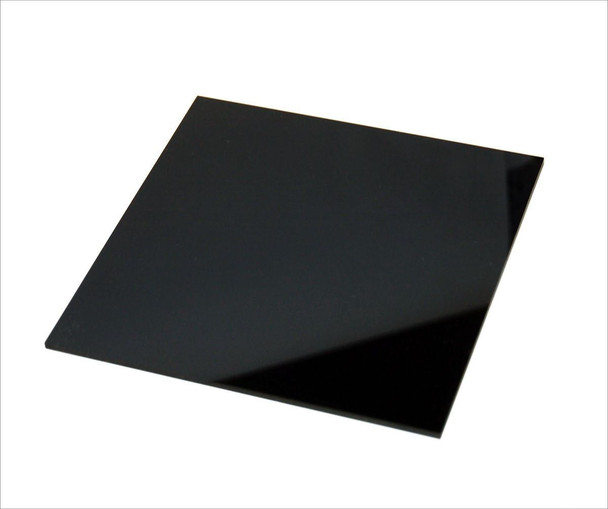 60x60cm Black Acrylic Photography Tabletop