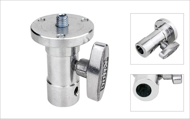 """Kupo Baby Ball Head Adapter with 3/8"""" Tap"""