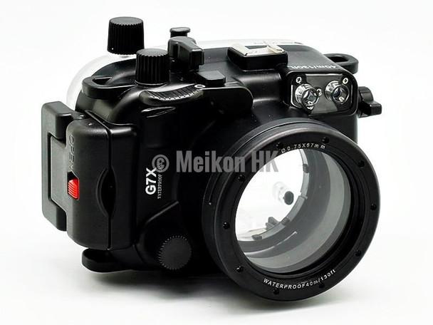 Meikon Canon PowerShot G7X 40m/130ft Meikon Underwater Camera Housing