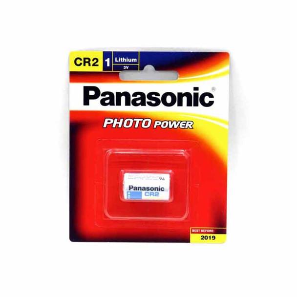 5-Pack Panasonic CR2 Lithium Battery 3v