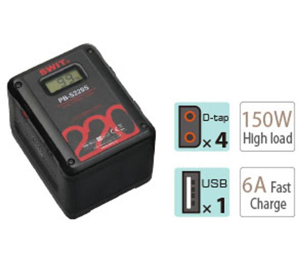 SWIT PB-S220S 220wh Battery