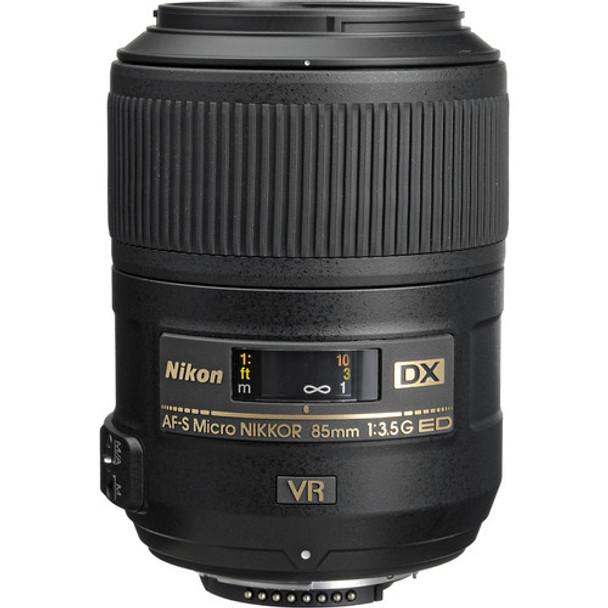Nikon AF-S DX 85mm F3.5G MICRO ED VR Lens