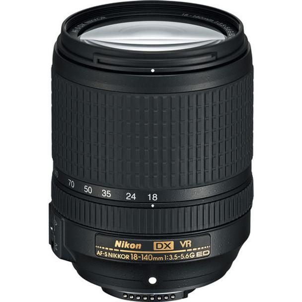 Nikon AF-S DX 18-140mm F3.5-5.6G ED VR lens