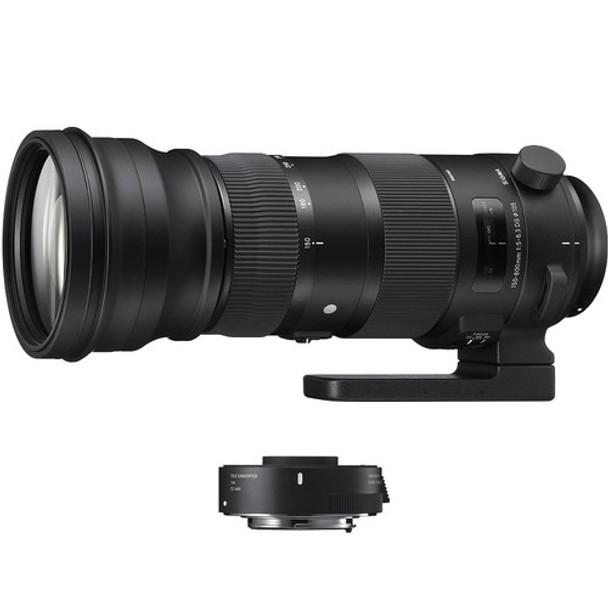 Sigma 150-600mm f5-6.3 EX DG HSM OS (Sport) w/ TC1401 FOR NIKON