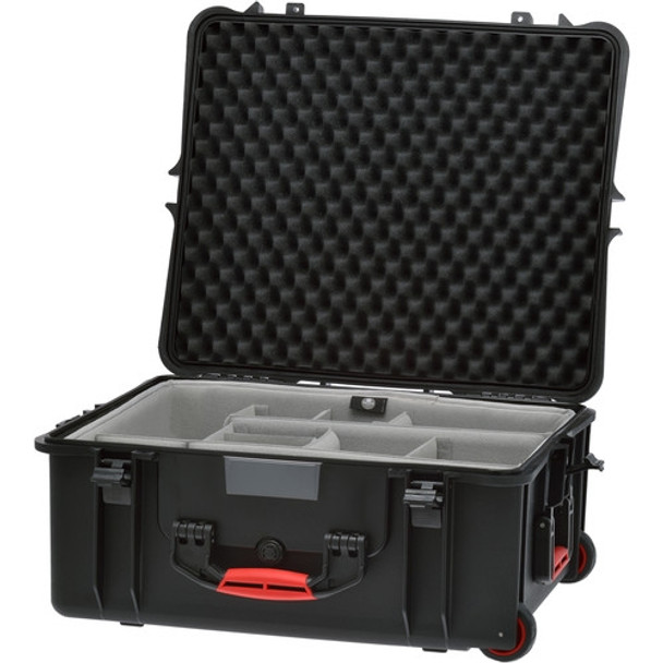 HPRC 2700W Rolling Resin Case with Second Skin and Dividers Kit