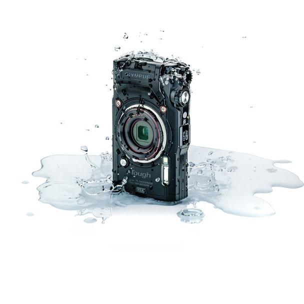 Olympus TG-6 Black Digital Camera