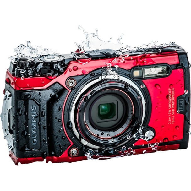 Olympus TG-6 Red Digital Camera