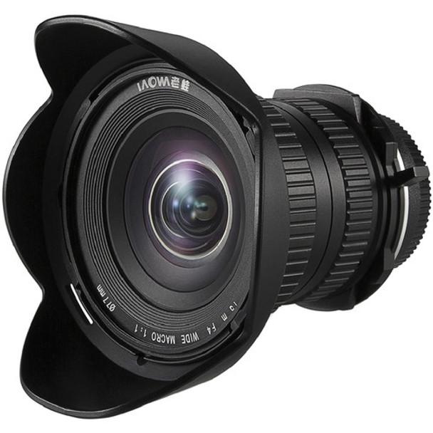 Laowa 15mm f/4 Wide Angle Macro lens - Sony A