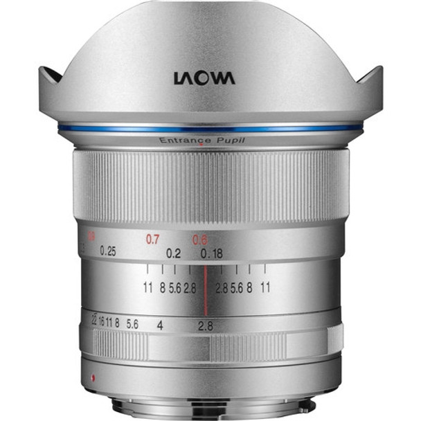 Laowa 12mm f/2.8 Zero-D lens for Canon(Silver)