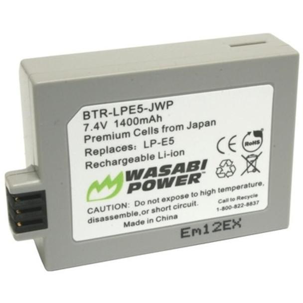 Wasabi Power LP-E5 Battery